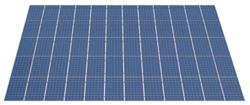 комплект креплений для 60 солнечных панелей