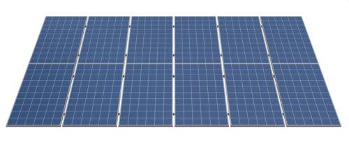 комплект креплений для 12 солнечных панелей