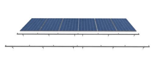 комплект крепления солнечных панелей