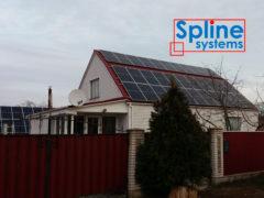 крепления для солнечных панелей на крыше