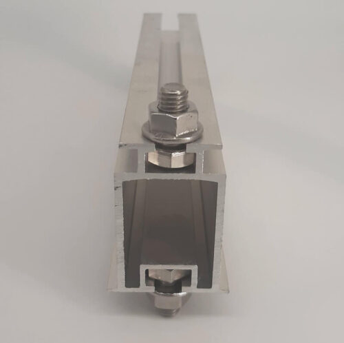 алюминиевый профиль спл-2 для крепления солнечных панелей