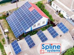 Крепления для солнечных панелей с измененным углом наклона